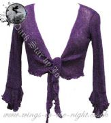 Ladies Gothic Knit Shrug by Jordash